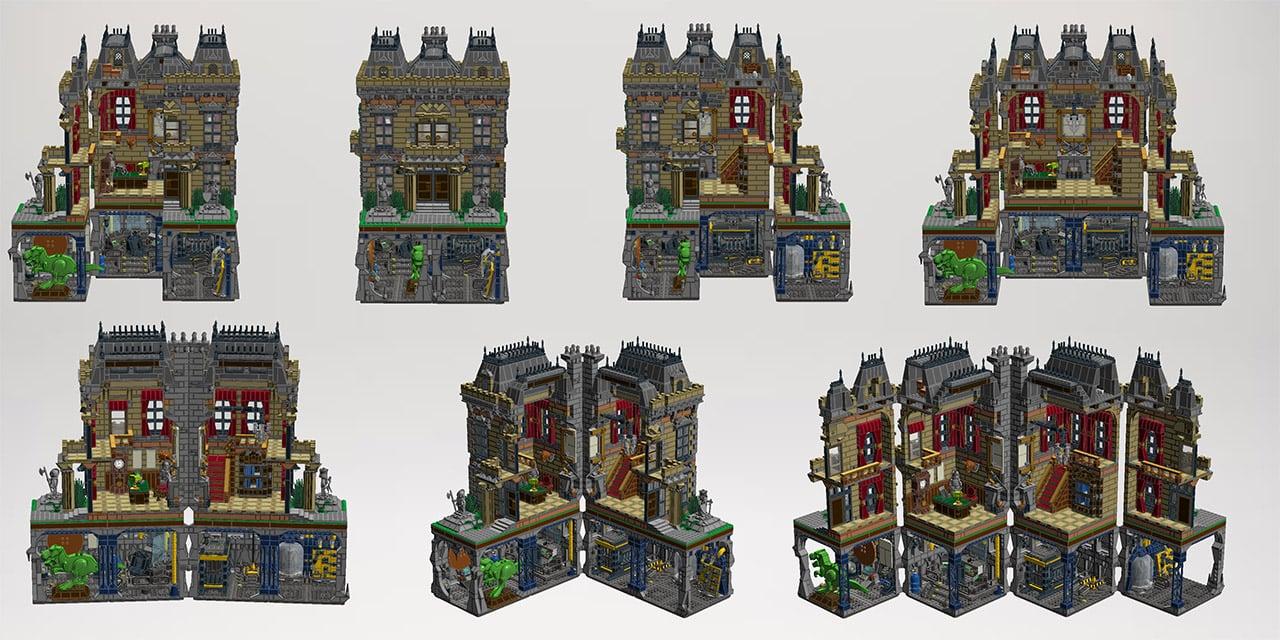 Batman Assault On Wayne Manor Lego Set Looks Amazing