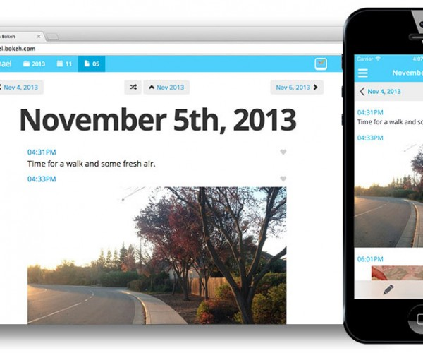 Bokeh: The Personal Digital Diary App