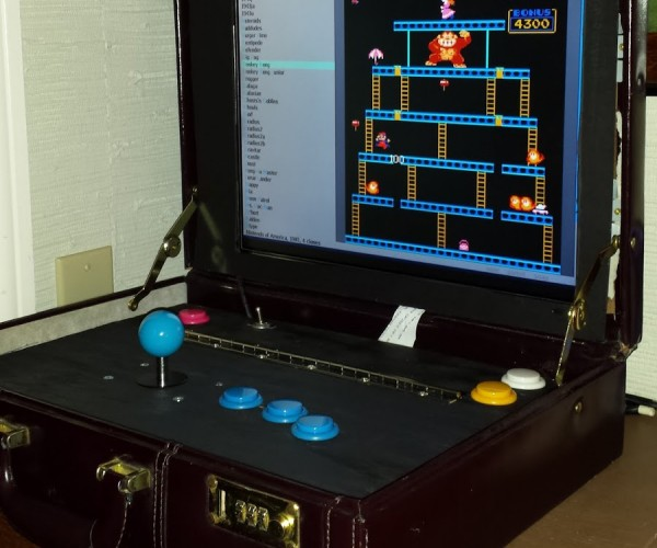 Briefcase Arcade Machine: Arcade Man Mk. V