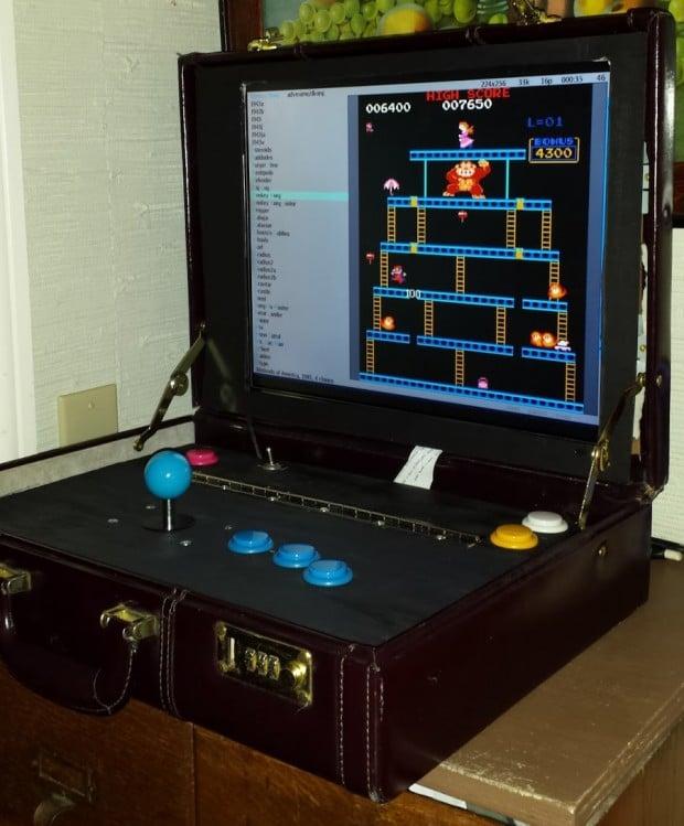 Briefcase Arcade Machine Arcade Man Mk V