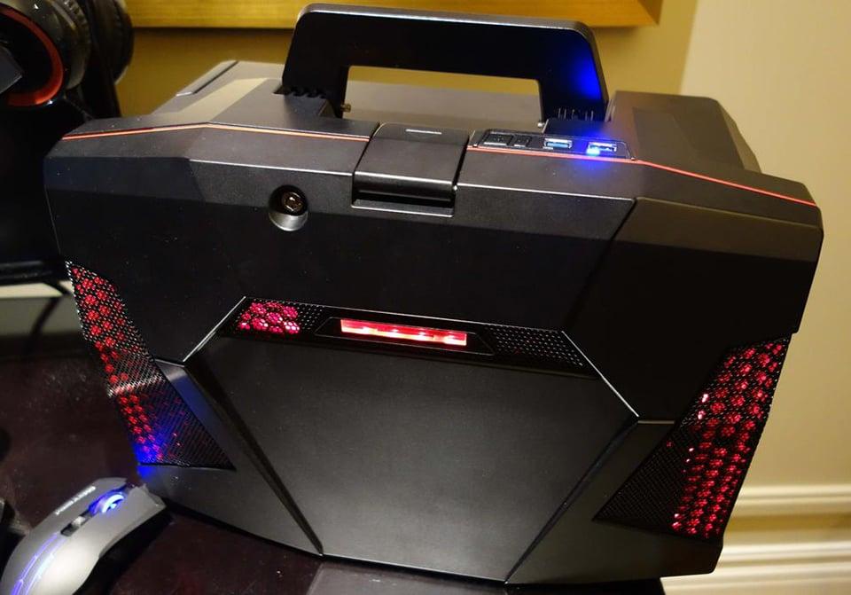 Cyberpowerpc Fang Battle Box Rig In A Box