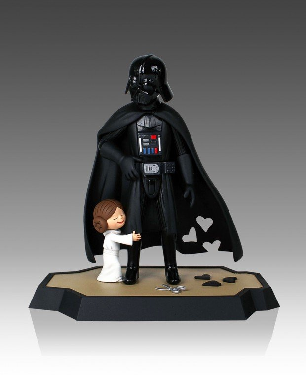 darth vader and son little princess book maquette by jeffrey brown 6 620x760