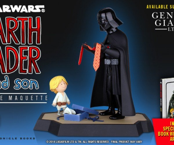 Darth Vader and Son & Vader's Little Princess Figurines: The Children Strike Back