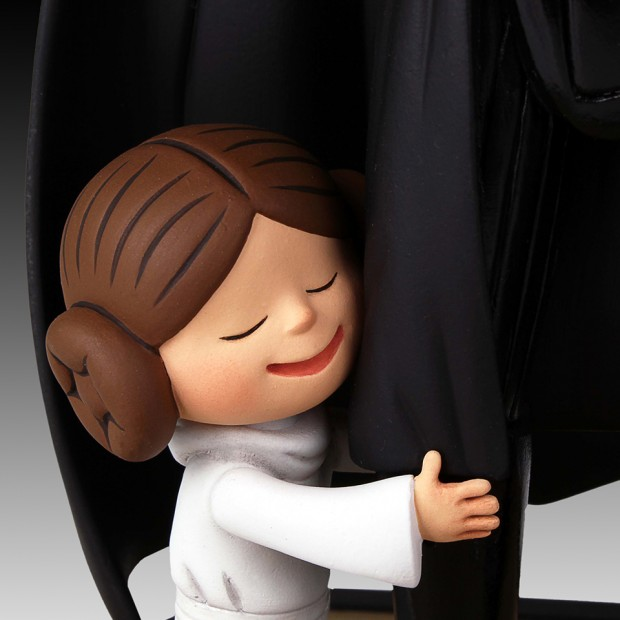 darth vader and son little princess book maquette by jeffrey brown 8 620x620