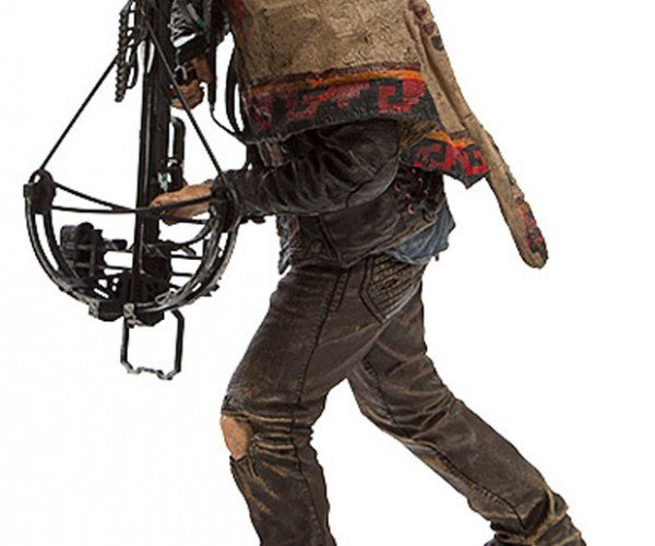 Daryl Dixon Walking Dead Action Figure Includes Crossbow, No Hog
