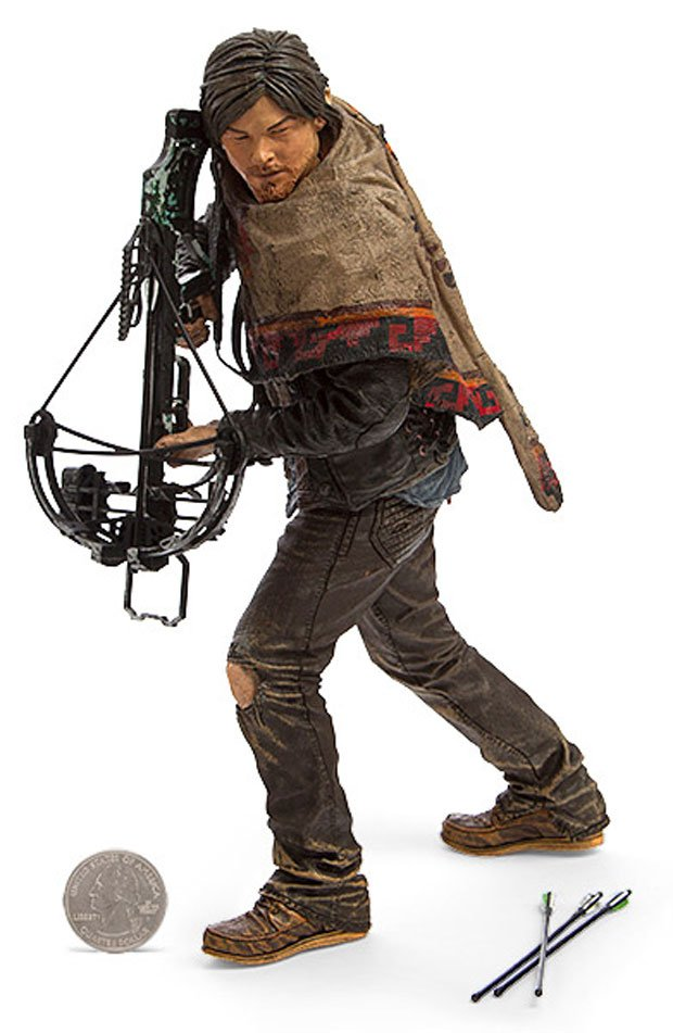 daryl dixon walking dead action figure includes crossbow