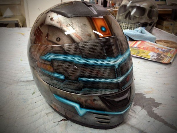 dead space helmet