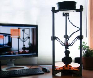 Deltaprintr 3D Printer Extrudes Simplicity