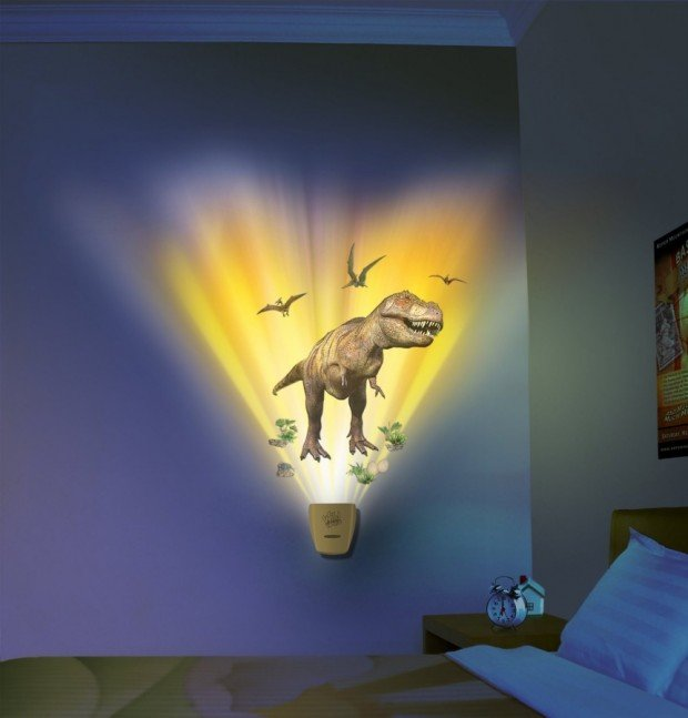 Dinosaurs on your wall kill even the toughest bogeyman for T rex bedroom decor