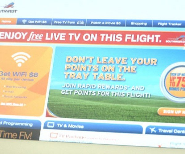 Dish Network and Southwest Airlines Extend Free TV Streaming Service During Flights