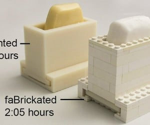 Making Prototypes with a 3D Printer & LEGO: faBrickation