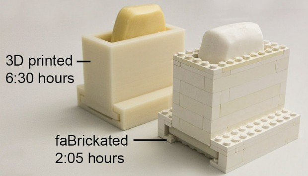 fabrickation 3d printer lego prototype by Hasso Plattner Institute 620x354