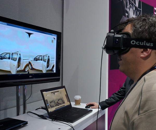 Ford Using Oculus Rift for VR Vehicle Simulations