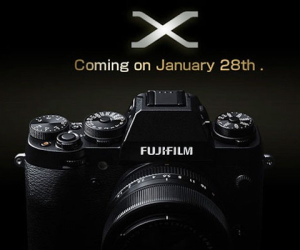 Fujifilm Teases New X-Mount Camera to Launch Next Week
