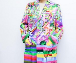 These Glitch Coats Will Hurt Your Eyes