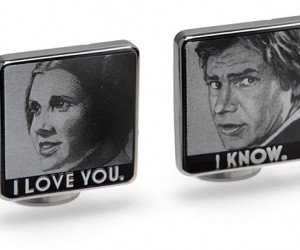 Star Wars I Love You./ I Know. Cufflinks Are Perfect For Well Dressed Scoundrels