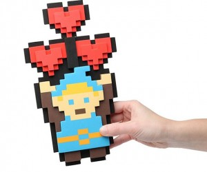 Legendary Hero 8-Bit Heart Bouquet Beats Flowers