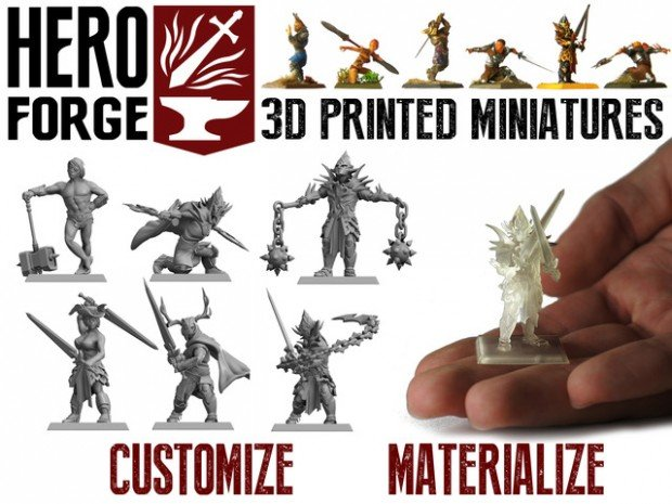 hero-forge-tabletop-miniature-3d-printing-service