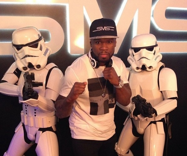 50 Cent Unveils Star Wars Headphones