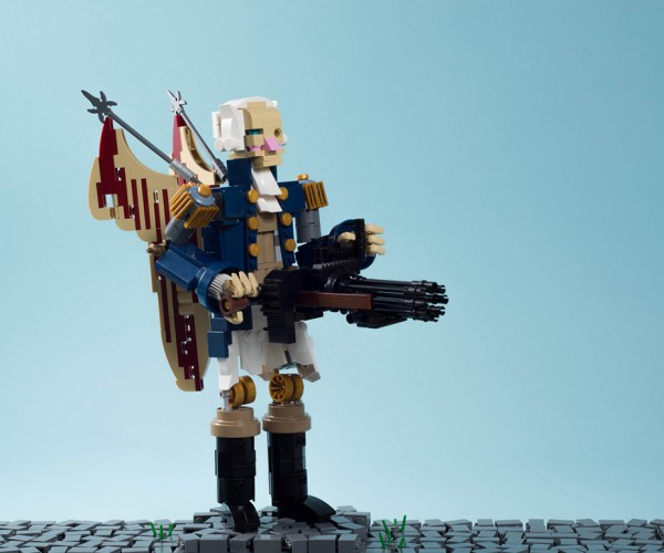 LEGO Bioshock Infinite Motorized Patriot: Comstock's Brick Men