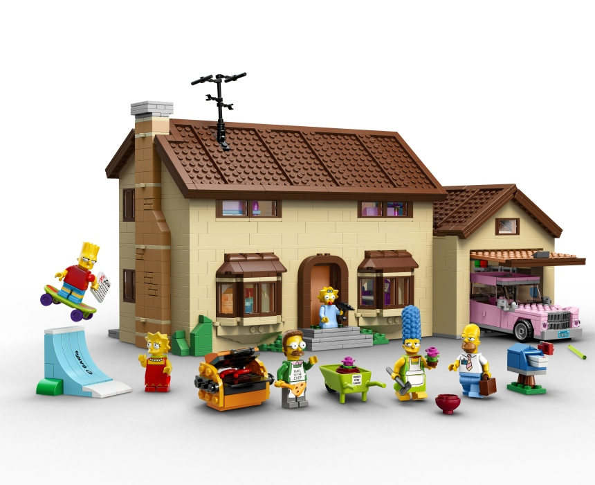 The Simpsons Lego Set Is Official