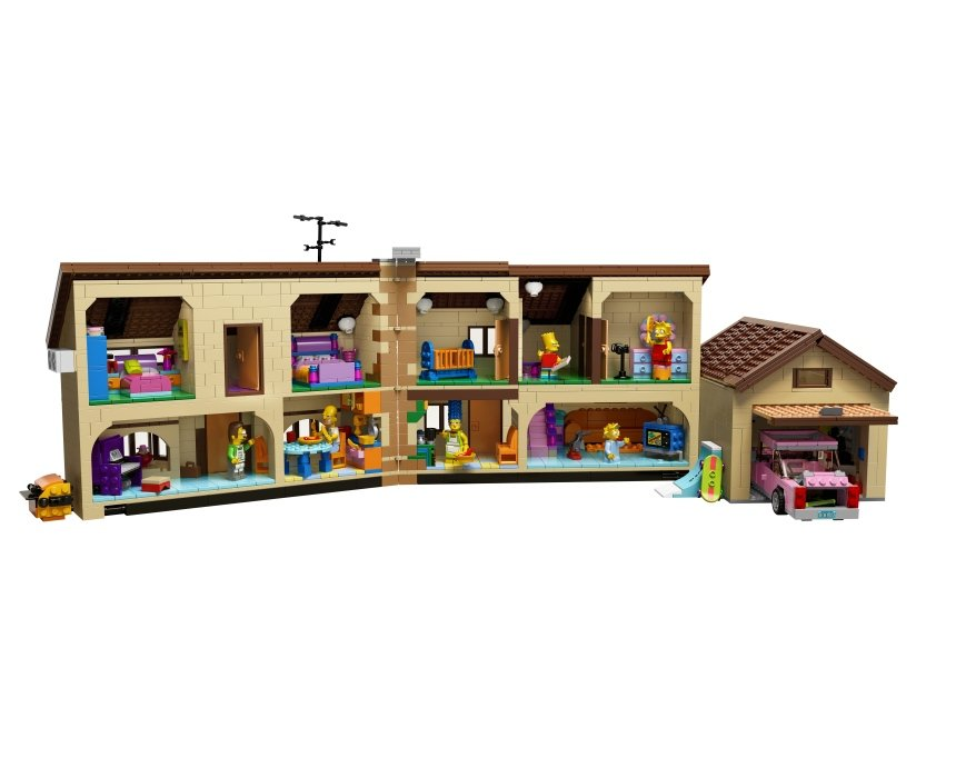 The Simpsons LEGO Set Is Official Lego Simpsons House