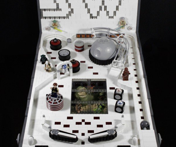DIY LEGO Star Wars Pinball Machine: Revenge of the Tilt