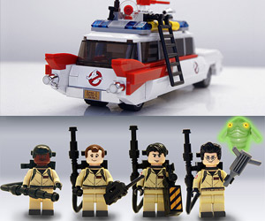 LEGO Is Making a Ghostbusters Set!
