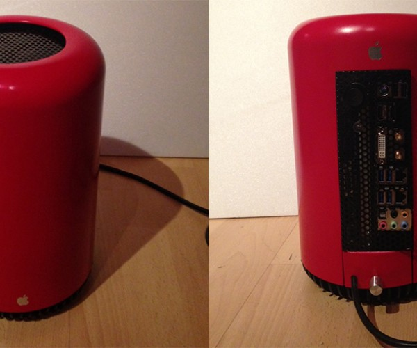 Hackintosh Mocks Mac Pro with Trash Can Case