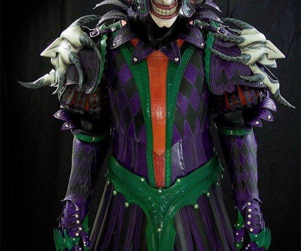 This Medieval Joker Armor Is Insane
