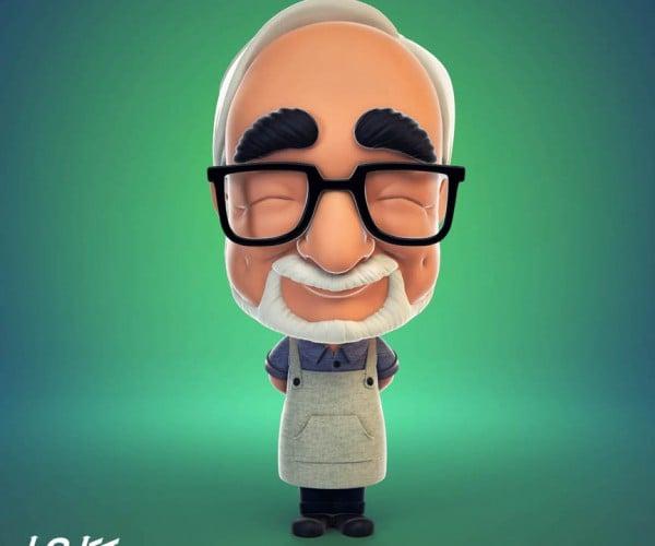 Limited Edition Hayao Miyazaki Figurine: My Neighbor Miya-san