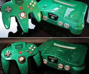 Custom Zelda Nintendo 64 Looks Amazing