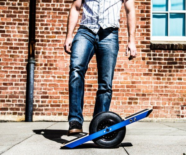 Onewheel Is a Self-balancing Electric Skateboard