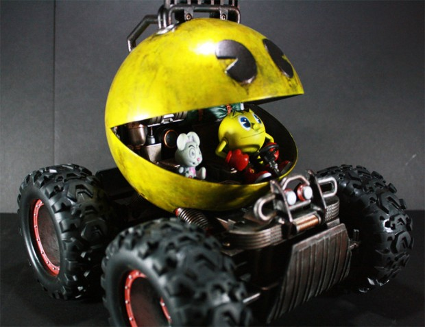 pac man monster truck 1 620x477