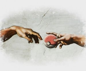 Pokreation T-shirt: The Creation of Arceus
