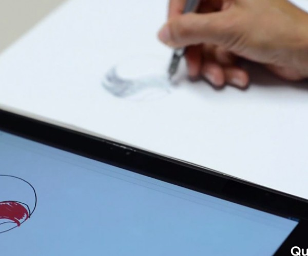 Qualcomm Ultra Sound Tech Copies Writing or Drawing in Real Time: Protocopier