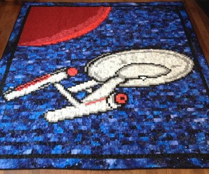 U.S.S. Enterprise Quilt: Make it Sew