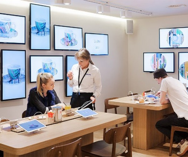 Samsung and Illy Team up to Put Galaxy Tablets in Their Coffee Shops