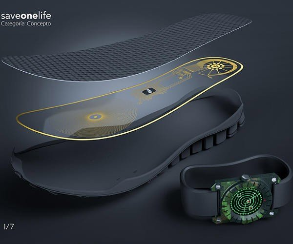 Landmine Detecting Shoe Insoles Might Just Save Your Life