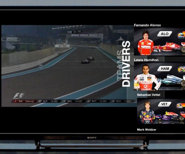 InAiR Augmented HDTV Add-on: Second Screen on the Same Screen