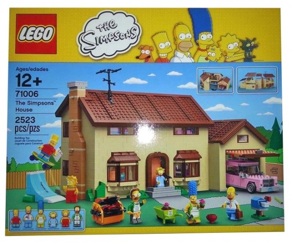 The First LEGO Simpsons Set Leaked