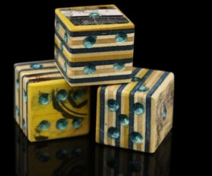 Recycled Skateboard Dice: Roll and Roll
