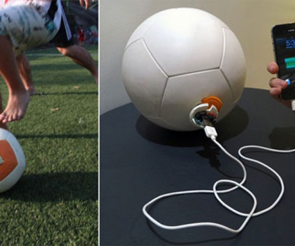 Power Generating Soccket Soccer Ball Now Available