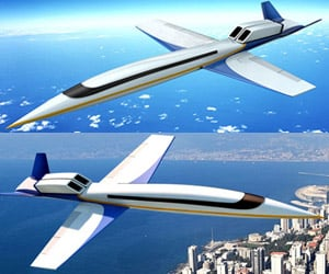 Supersonic Private Jet to Cruise at Mach 1.6