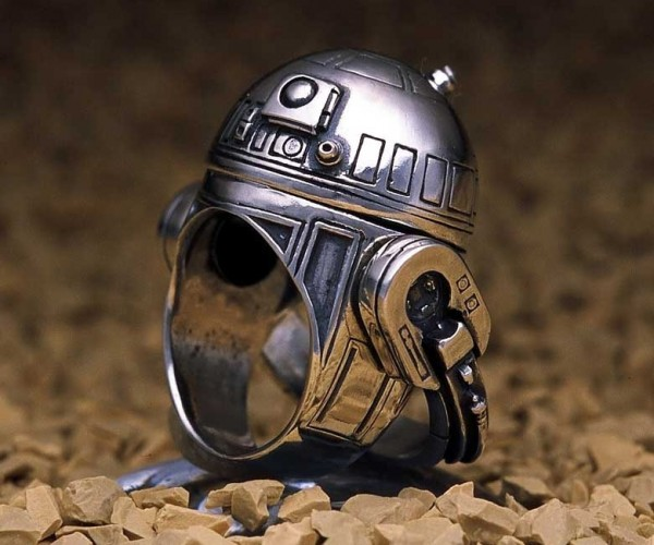 Star Wars Wedding Rings: Do You Take This Droid?