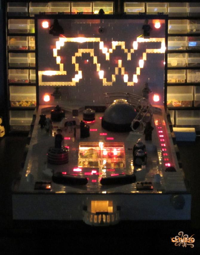 DIY LEGO Star Wars Pinball Machine: Revenge of the Tilt