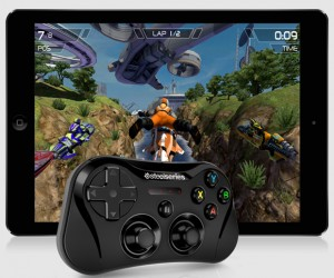 SteelSeries Stratus Wireless Gaming Controller for iOS7:  No Touching