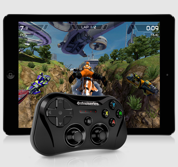 steelseries stratus wireless controller for ios 7