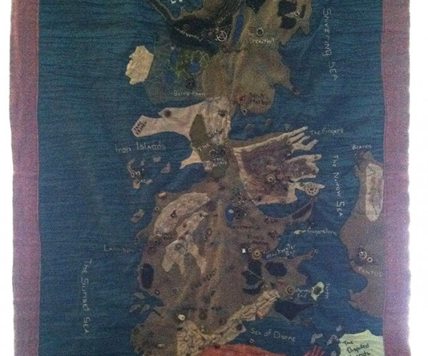 Stitched Map of Westeros: String's Landing