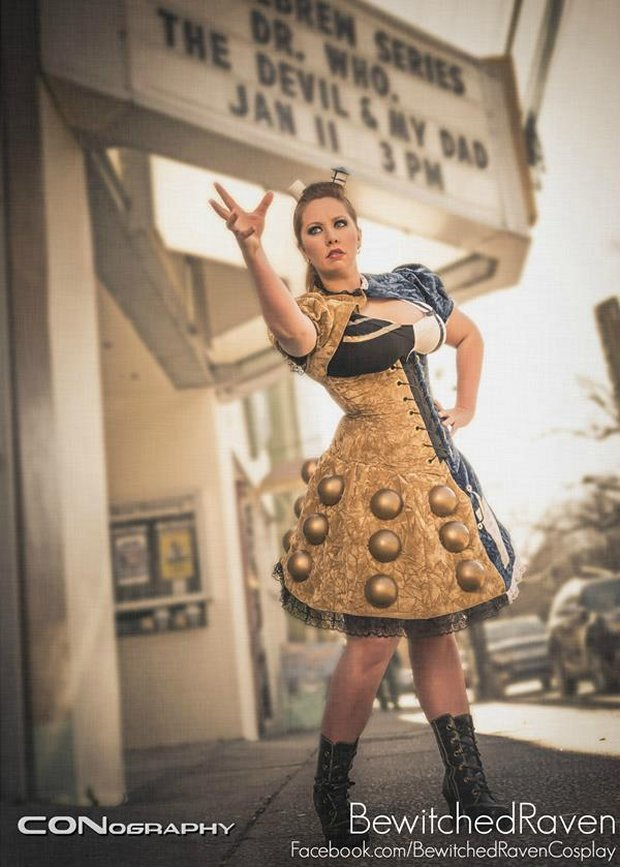 tardis dalek dress